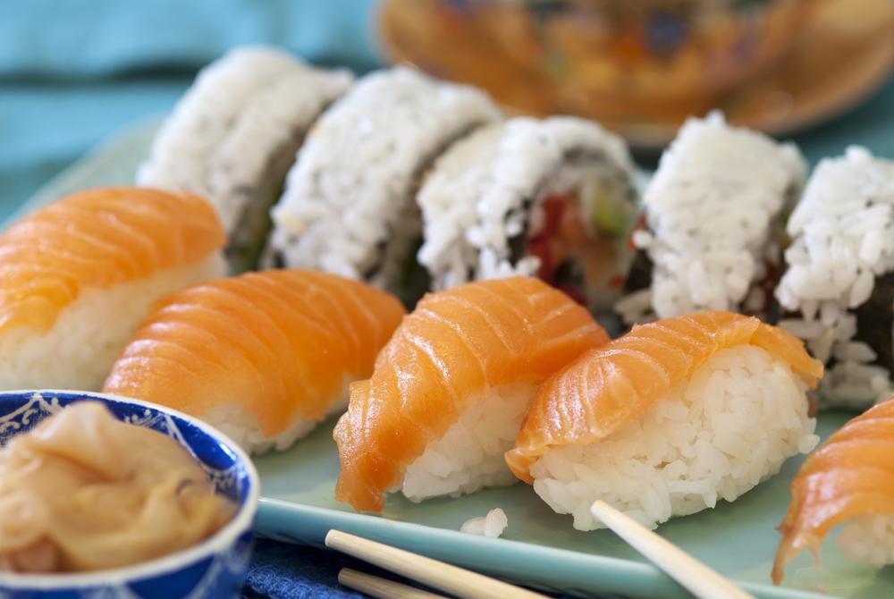 hjemmelagd sushi