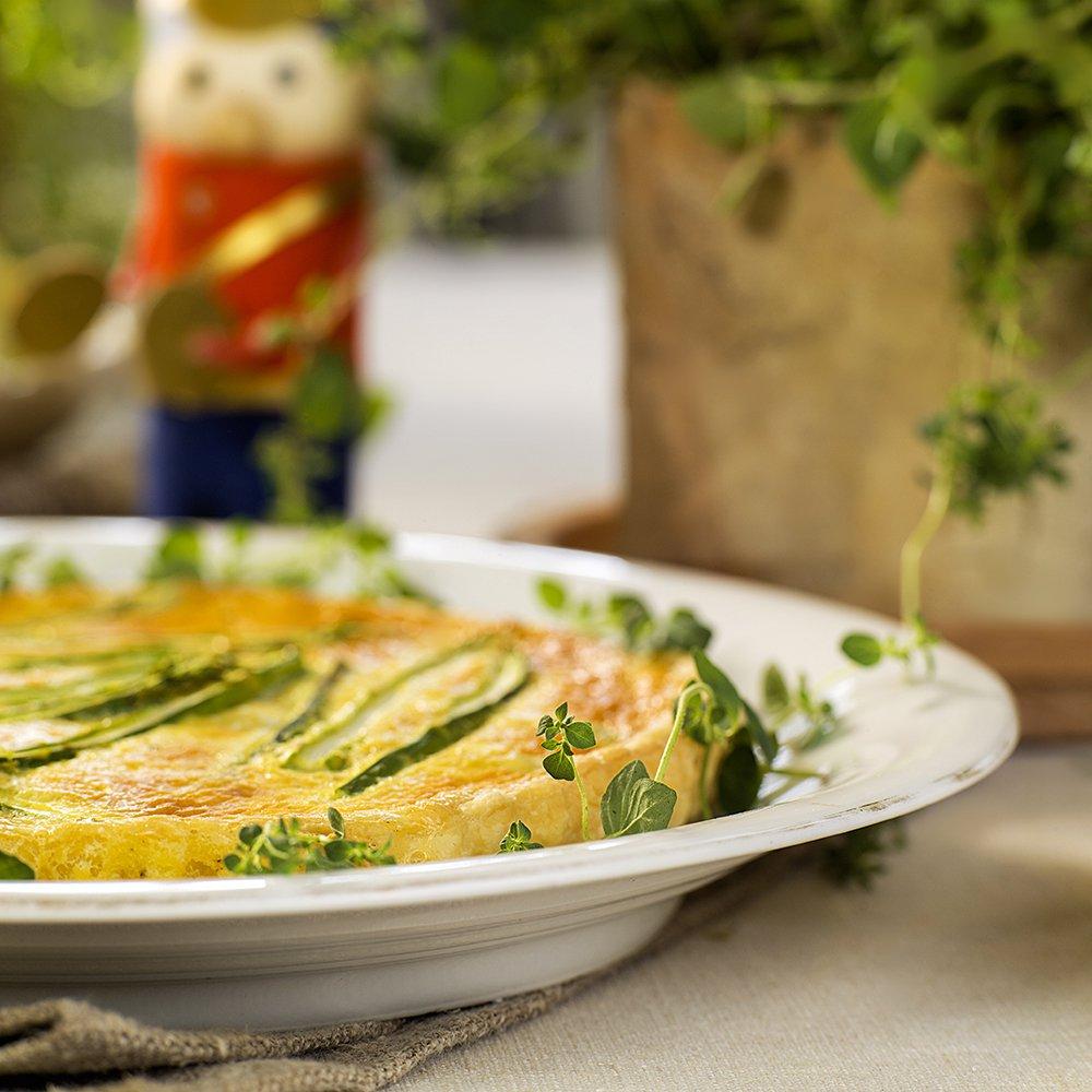 Brie- og aspargespai