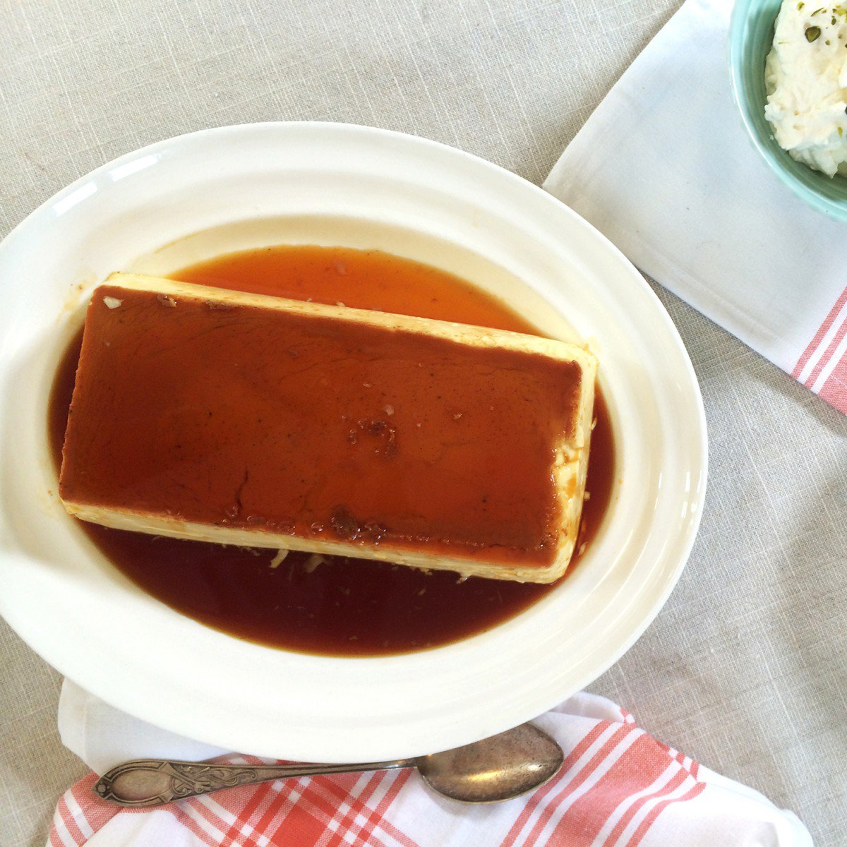 Lag karamellpudding i dampovn!