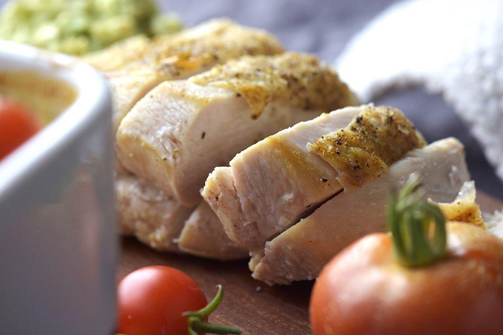 Supergod grønnsaksgrateng med kylling til