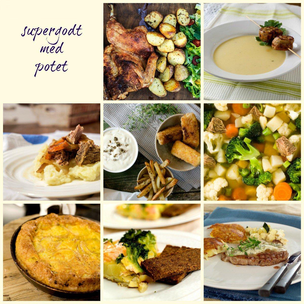 De beste potetoppskriftene!