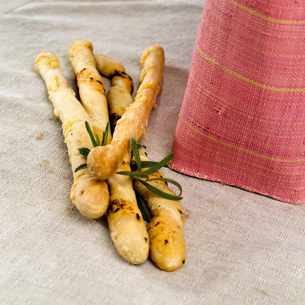 Grissini - sprø brødpinner