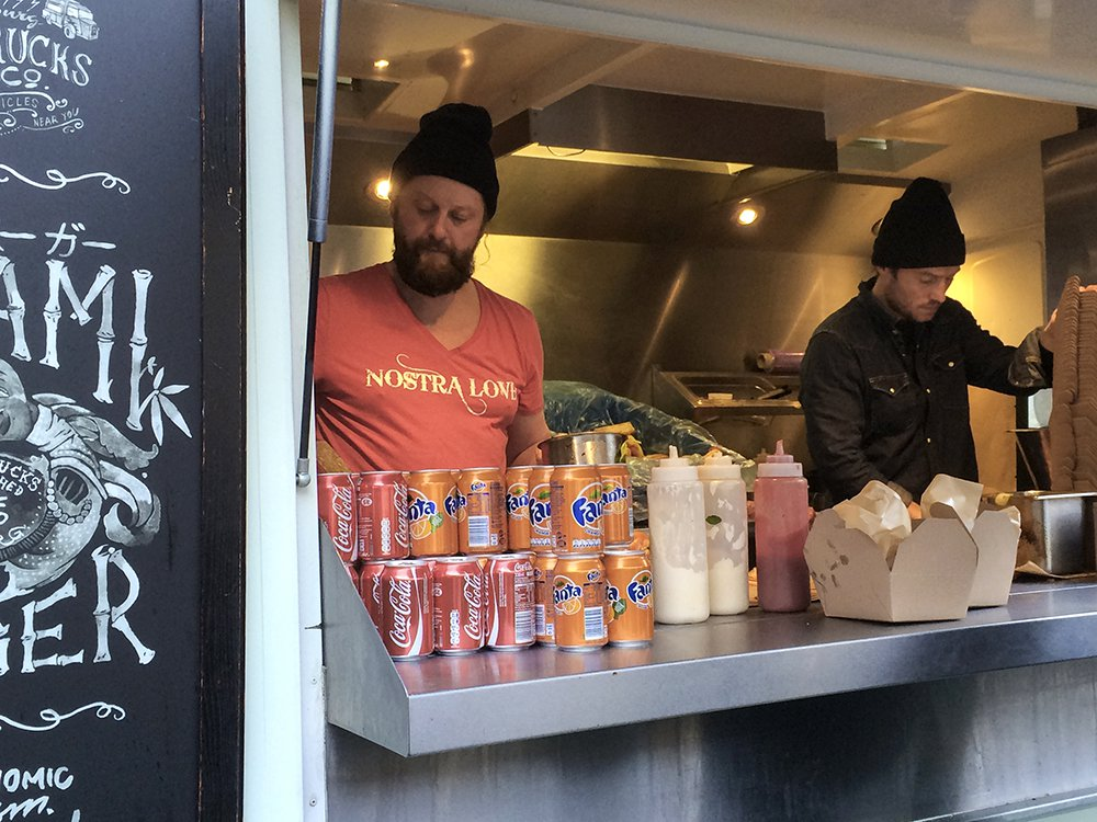 Food trucks i Gøteborg