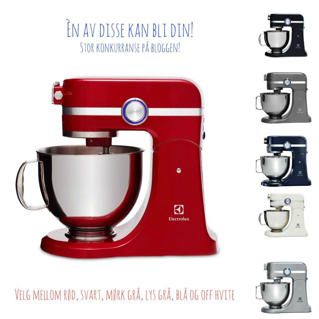 Bli med i konkurransen om å vinne kjøkkenmaskin!