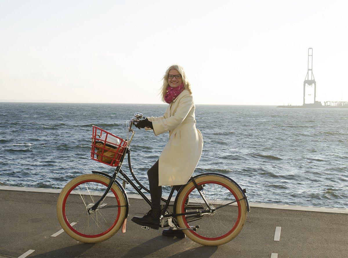 På sykkeltur i november!