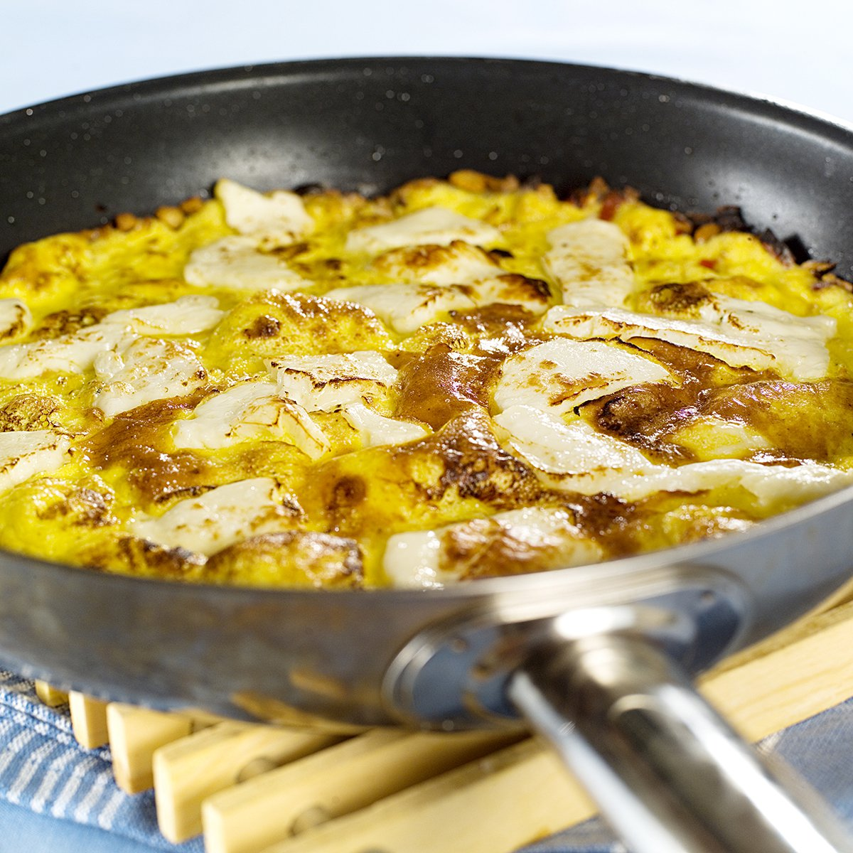 Omelett med ost