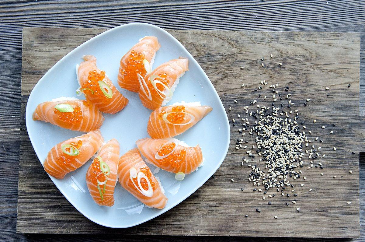 Sushi fra Lofoten!