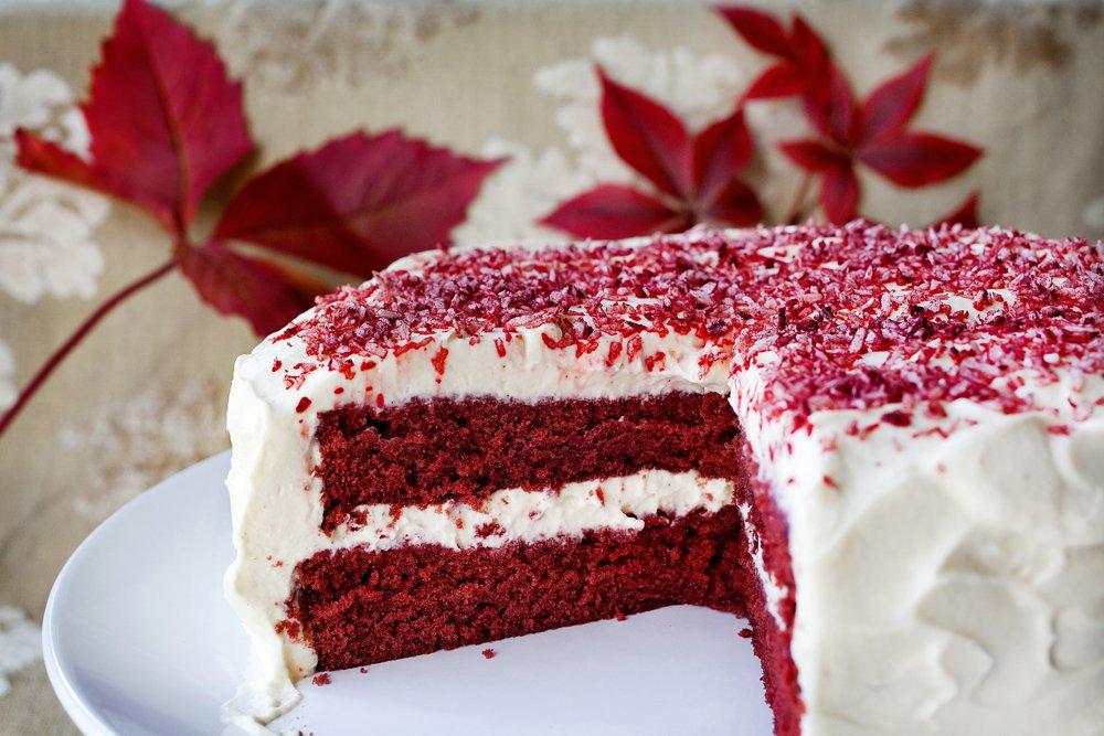 Red Velvet Cake Oppskrift