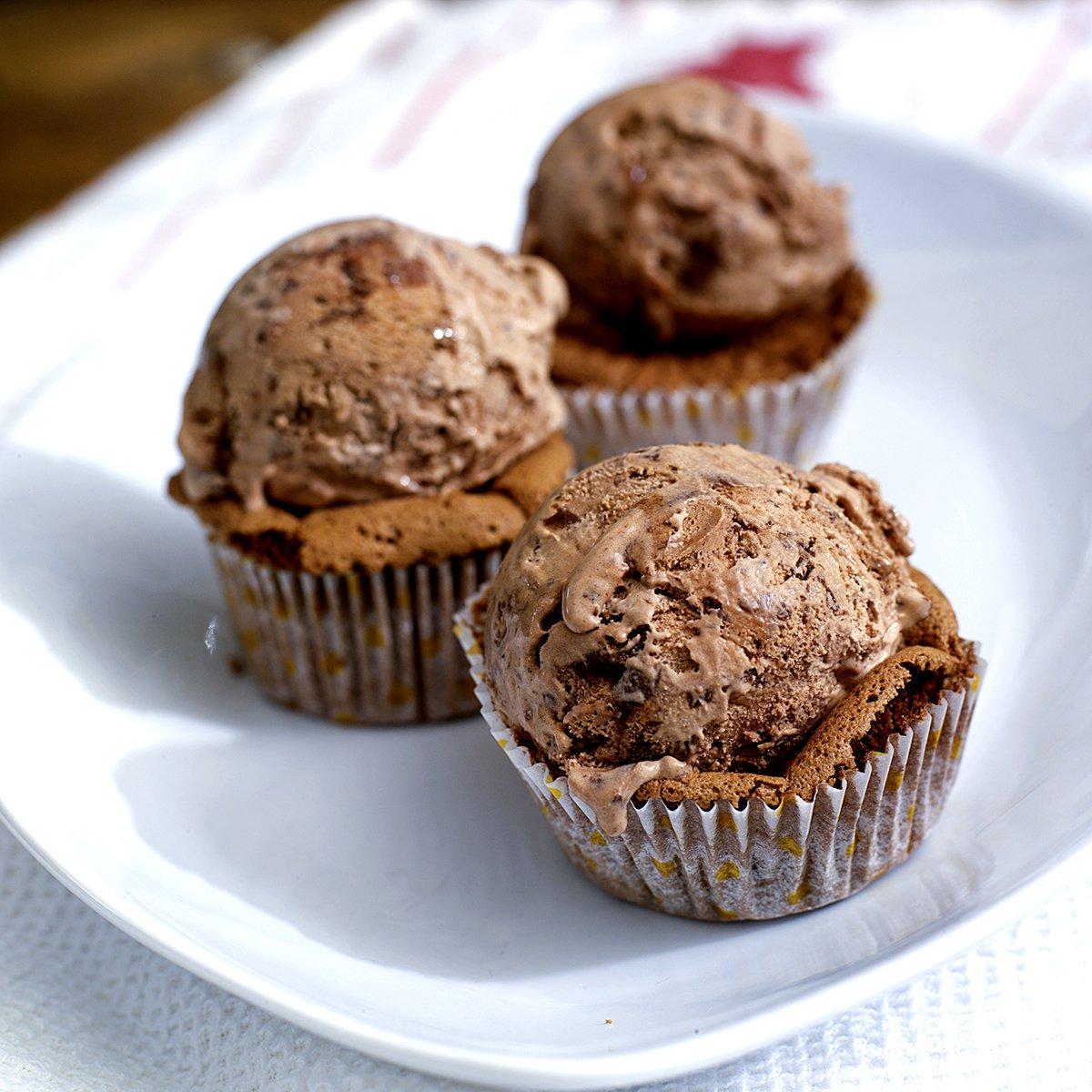 Fantastisk gode sjokolademuffins!