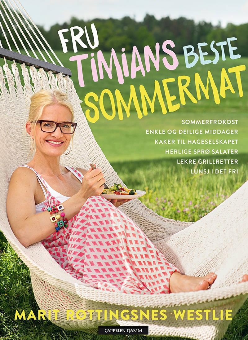 Vinn et signert eksemplar av Fru Timians beste sommermat!