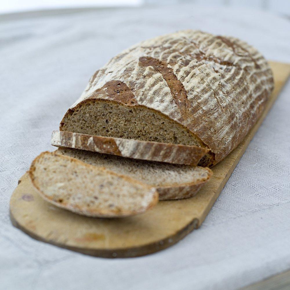 Grovbrød uten elting