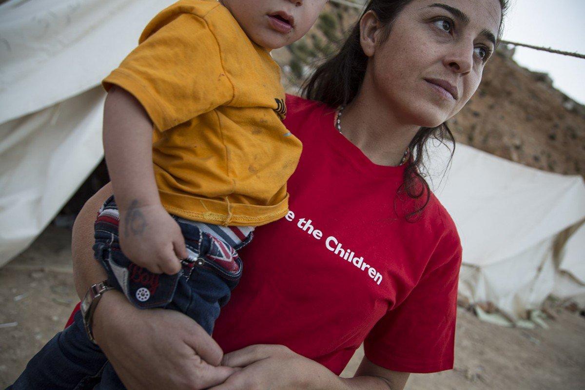 Vil du være med å støtte Redd Barnas arbeid i flyktningekrisen?