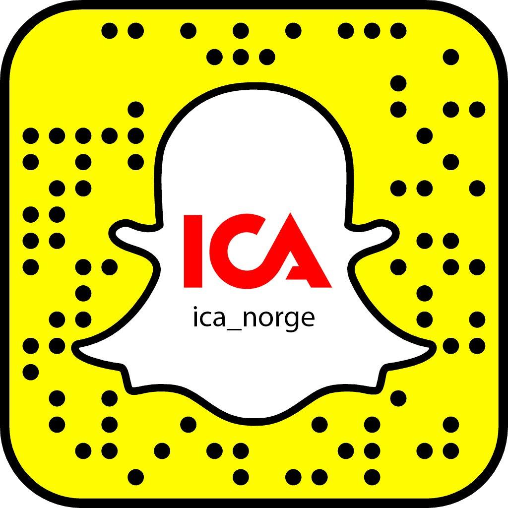 Jeg tar over ICAs snapchat neste uke!