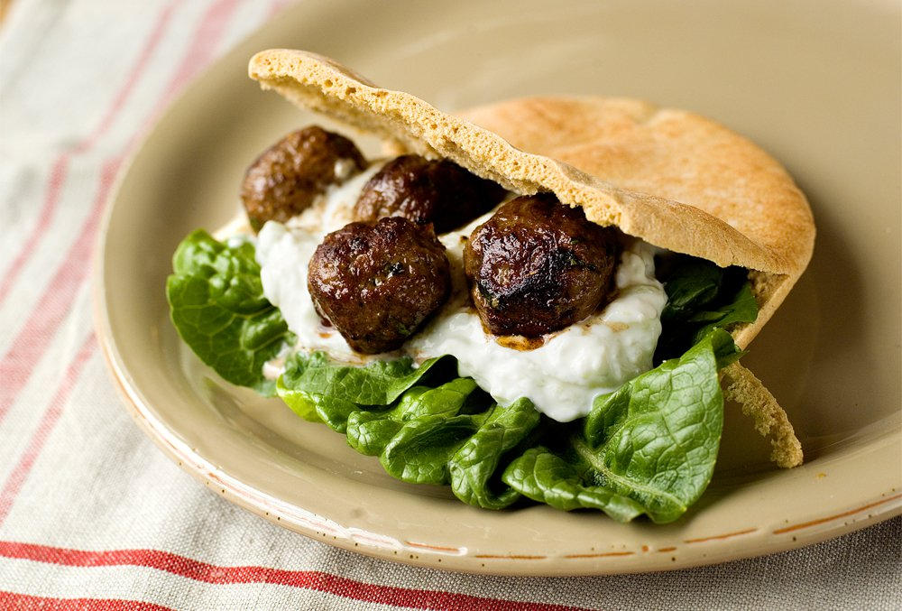 meatballs-and-tzatziki