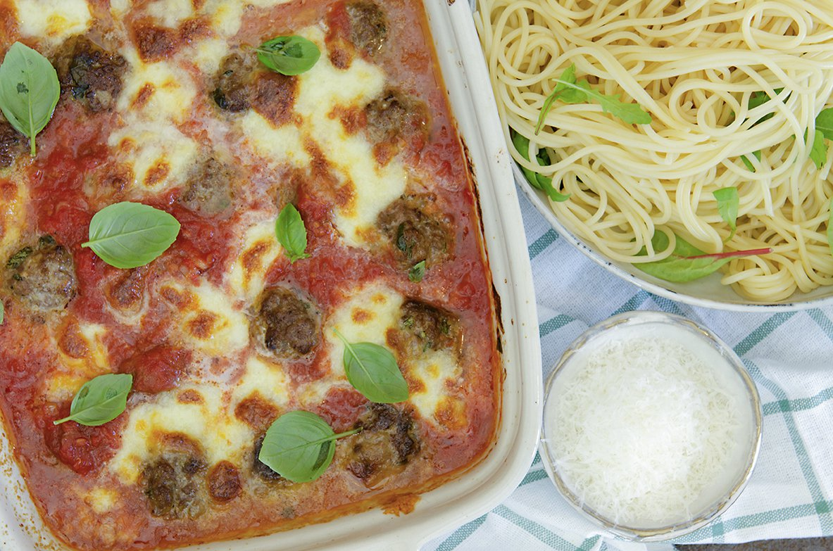 kjøttboller og tomatsaus