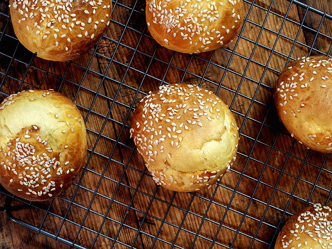 brioche hamburgerbrød