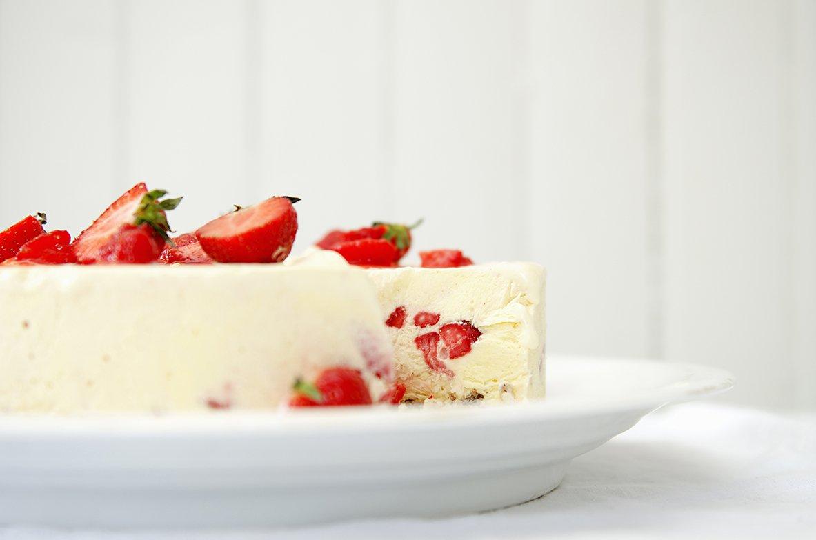 iskake med jordbær 3