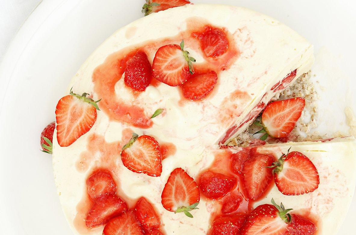 iskake med jordbær 5