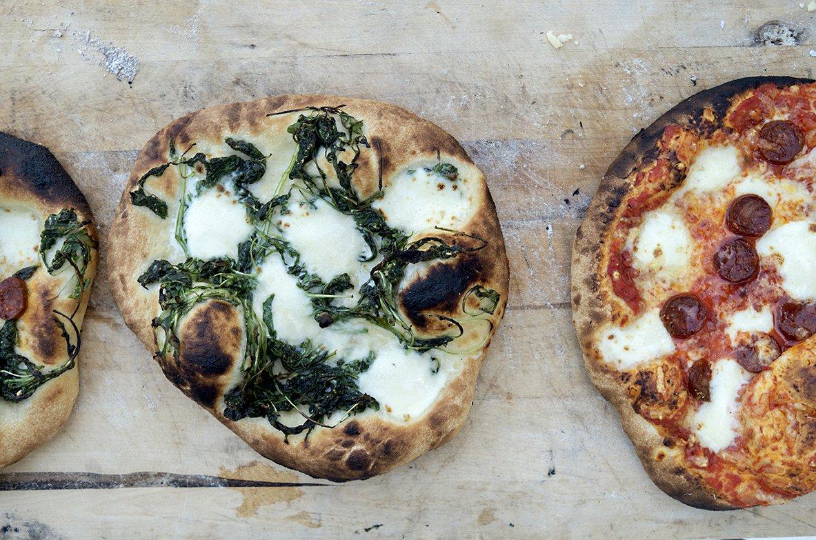 hjemmelaget porsjonspizza