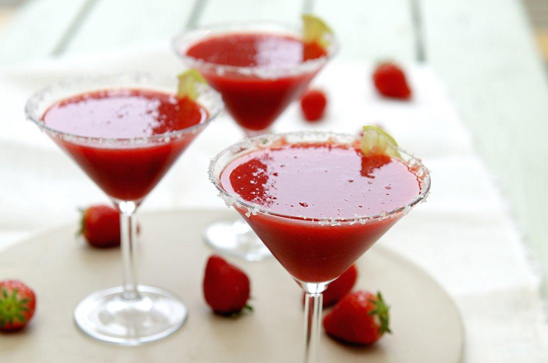 margaritas med jordbær