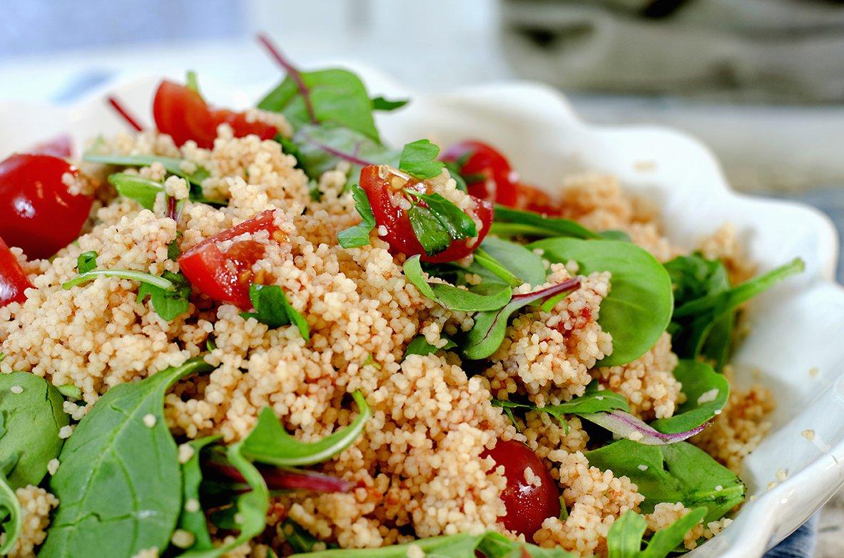 couscous med tomat